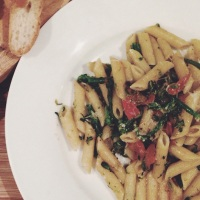Penne with Cime di Rapa