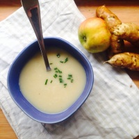 Jerusalem Artichoke & Apple Soup