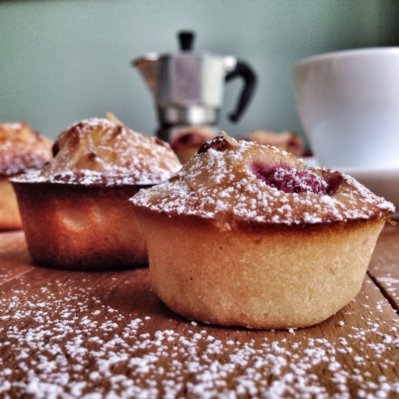 friands and coffee