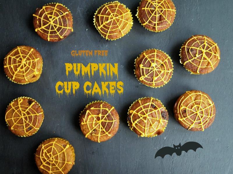 GF Pumpkin cup cakes