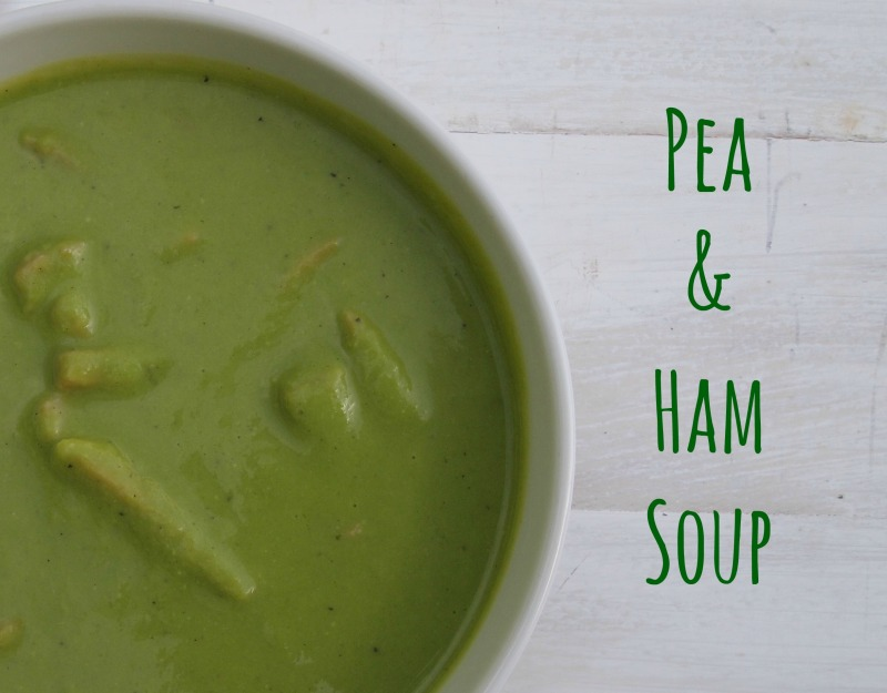 pea and ham soup title